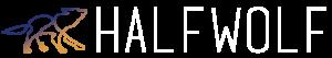 logo white halfwolf web agency a torino